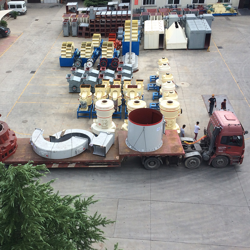 Shipment of Egypt Limestone Power Plant for Desulfurized Powder