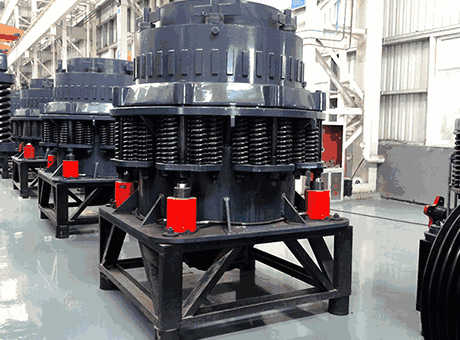 Cone Crushers Mineral Processing Metallurgy